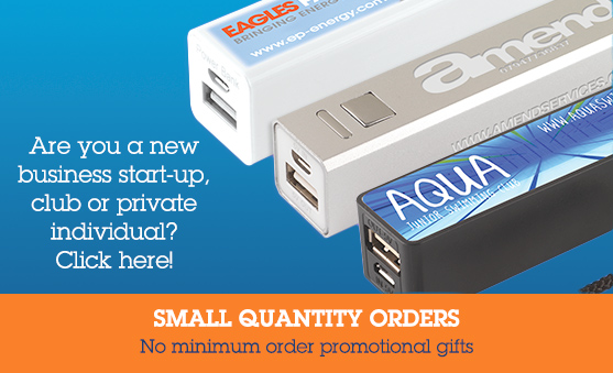 No minimum order promotional gifts